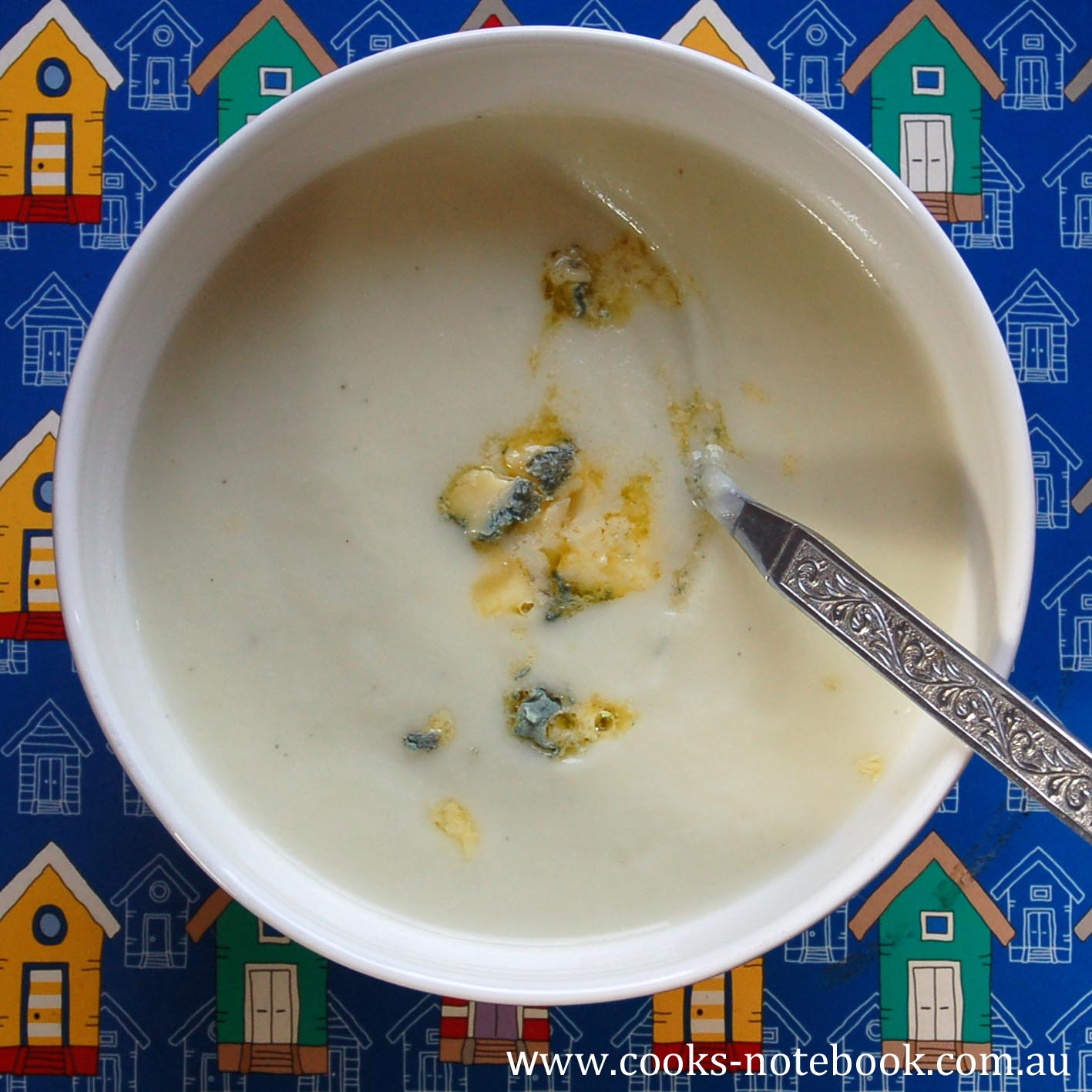 A chilly Killcare holiday – perfect for cauliflower and blue cheese soup