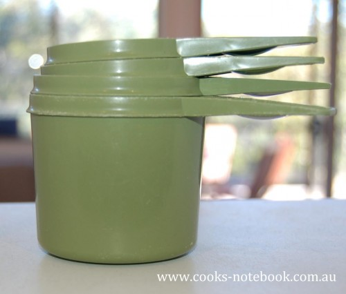 Tupperware measuring cups I think from the 1970s