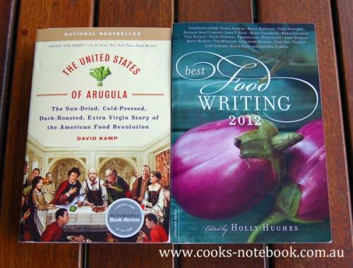 Food writing books