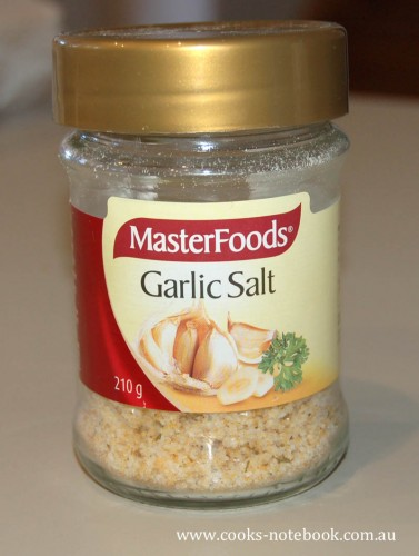 In my kitchen - Masterfoods Garlic Salt