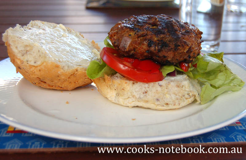Burger love – lamb burgers