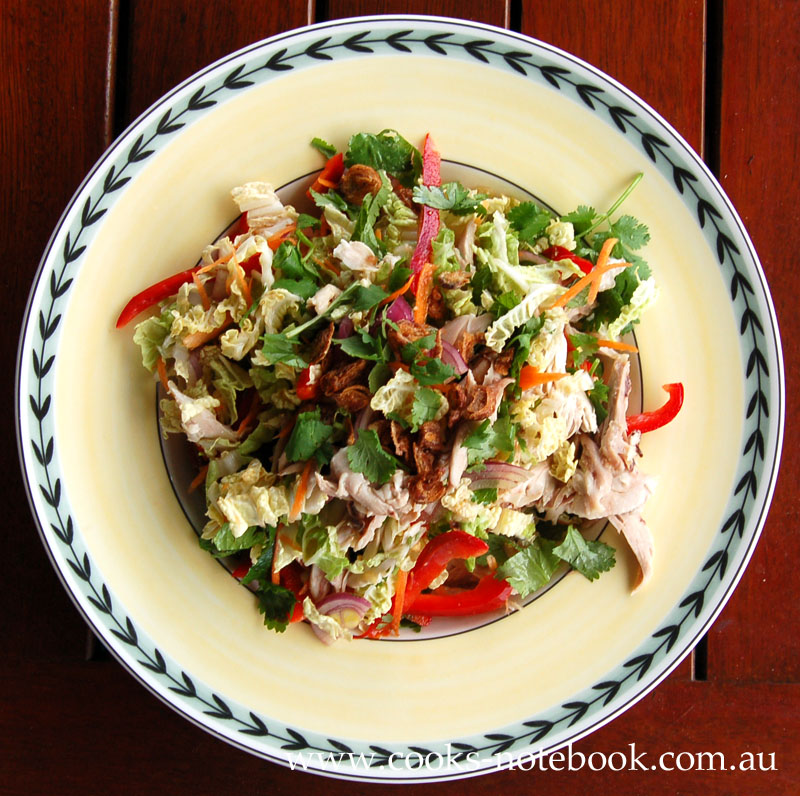 Recipe: Vietnamese chicken salad
