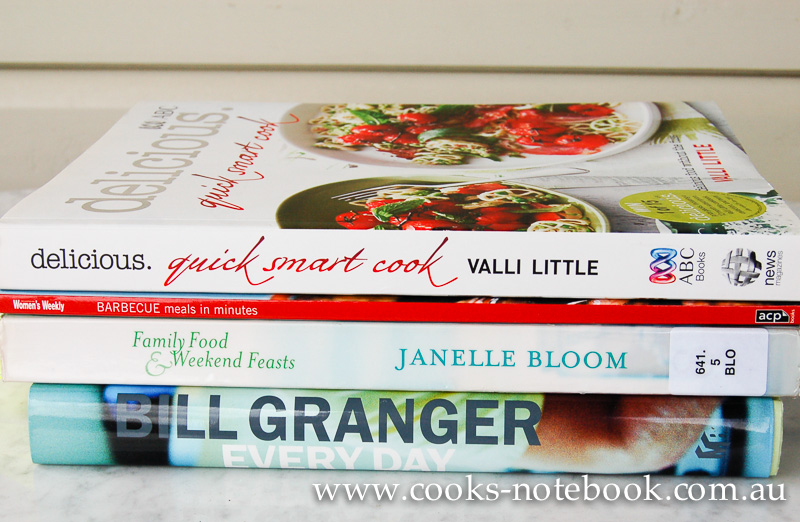 Cooking the books – week 4