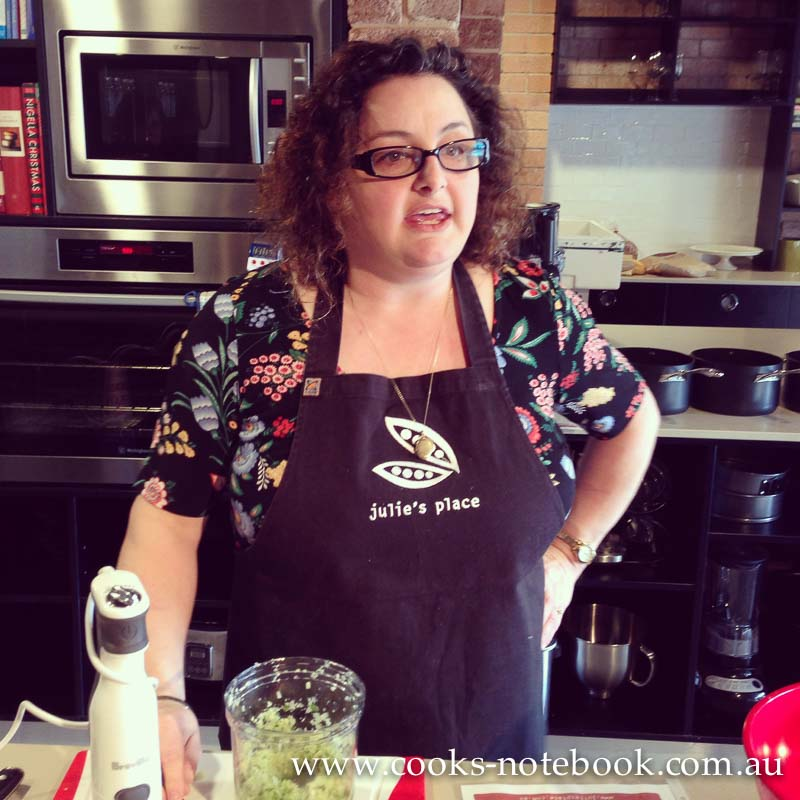 Julie's Place – a cooking school in Gosford