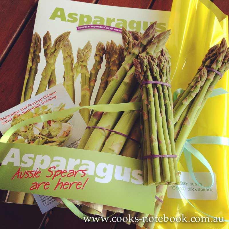 Seasonal vegetables – asparagus