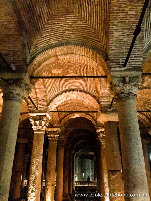 Istanbul – cold and wet and a visit to the Basilica Cistern
