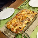 spicy pork sausage pasta bake - www.cooks-notebook.com.au
