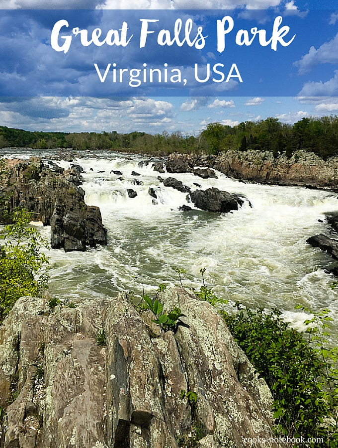 Great Falls Park Virginia, USA