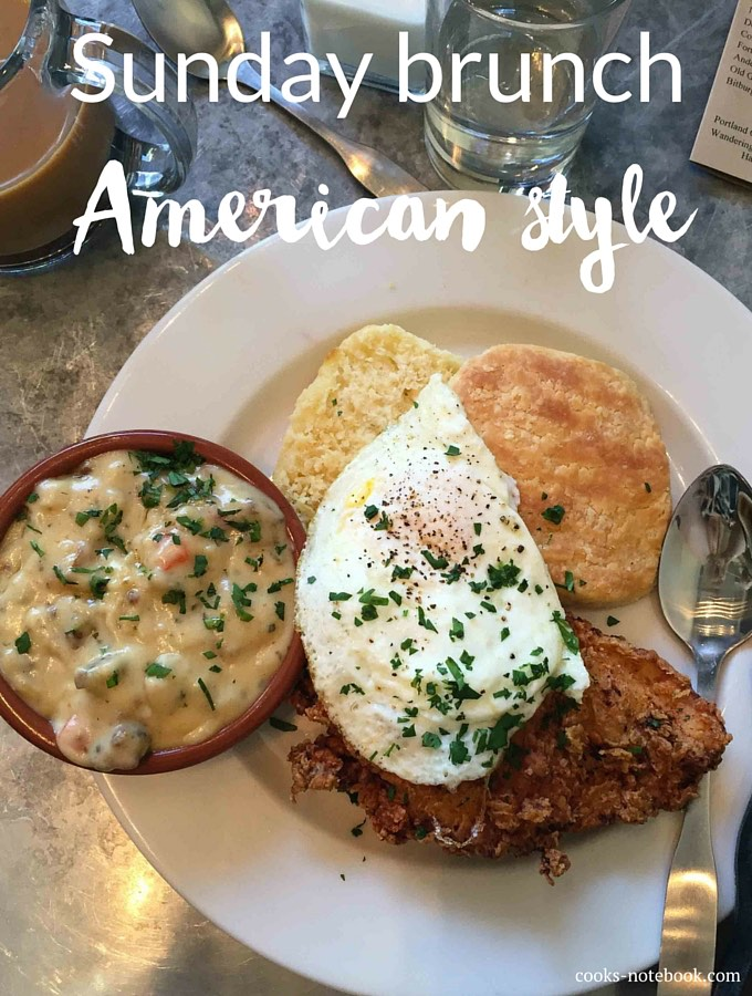 Sunday brunch – American style