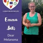 Emma Betts Dear Melanoma