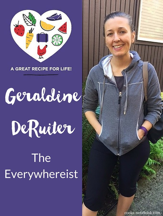 Geraldine DeRuiter, The Everywhereist blog