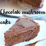 Chocolate mushroom cake