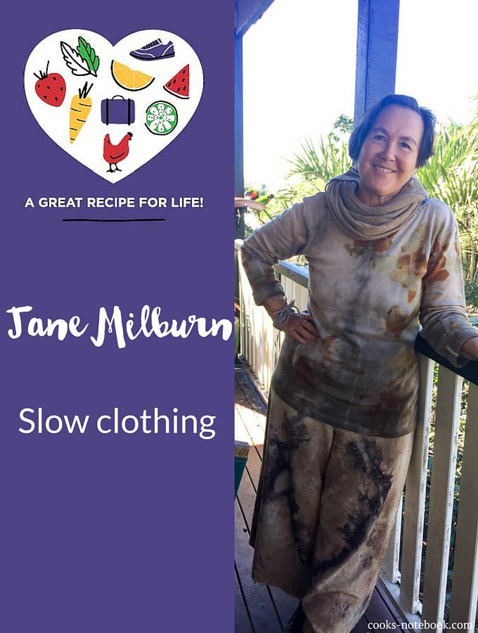 Jane Milburn, natural fibre champion