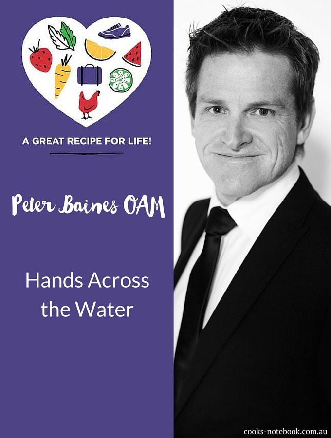 Peter Baines, Hands Across the Water