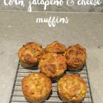 Corn, jalapeno and cheese muffins