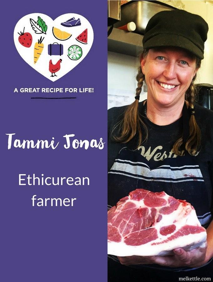Tammi Jonas, Ethicurean farmer