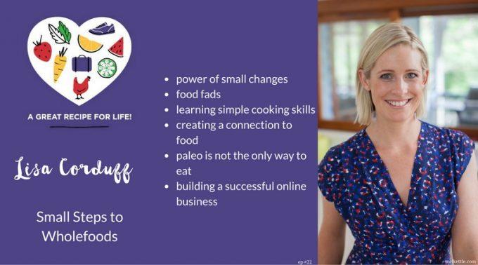 Lisa Corduff Small Steps to Wholefoods