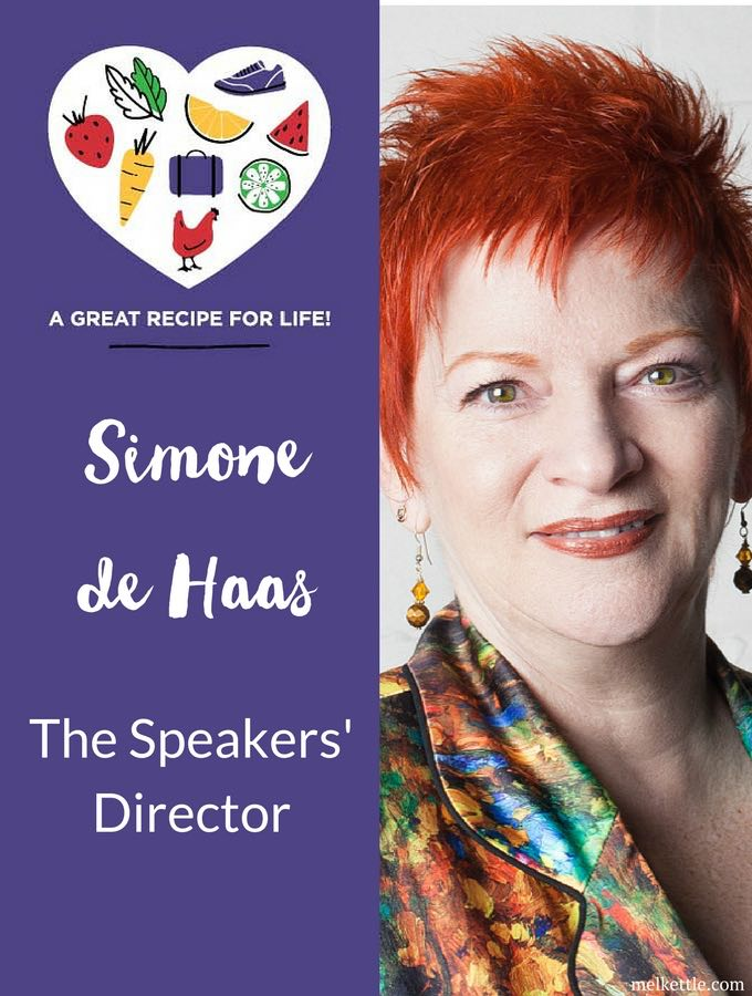 Simone de Haas, speaker, actor, producer