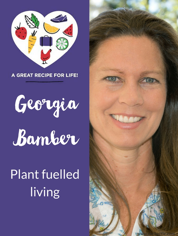 Georgia Bamber, Plant fuelled living